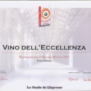 """Da """"I Vini d'Italia 2016"""" de """"Le Guide de L'Espresso"""""""